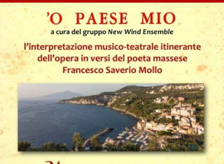 A S, LIberatore ed a Pietrapiana 'O Paese Mio con la New Wind Ensemble